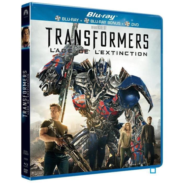 Blu Ray Transformers : l'âge de l'extinction