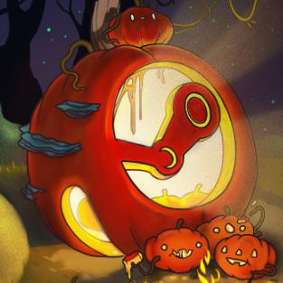 Soldes d'Halloween - Jusqu'à 80% de réduction sur une sélection de jeux Steam