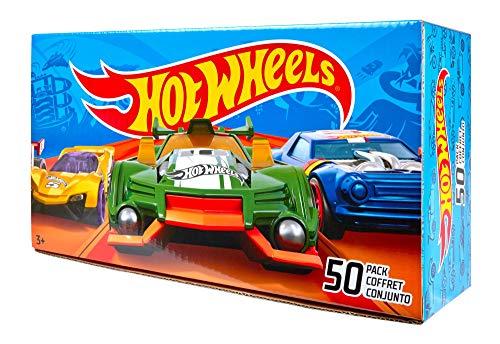 Coffret 50 voitures Hot wheels V6697 + coffret 5 voitures 50ème anniversaire FWF98