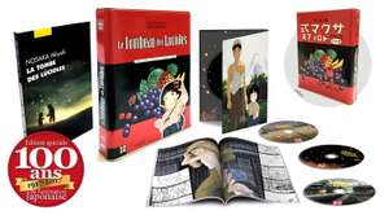Le Tombeau des lucioles - Edition Collector Limitée - Coffret Combo DVD + Blu-ray (Candy Box)