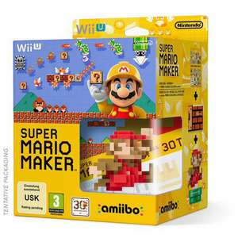 Précommande : Super Mario Maker + Amiibo + Artbook sur Wii U