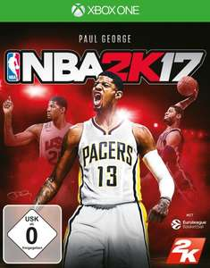 NBA 2K17 sur Xbox One (Frontaliers Allemagne)