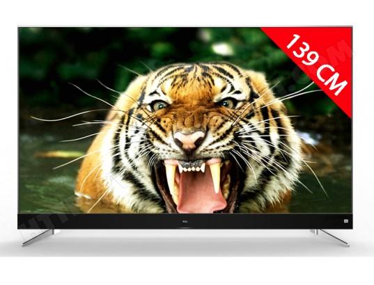 """TV 55"""" TCL U55C7026 - 4K UHD, HDR son JBL (Via ODR de 100€)"""