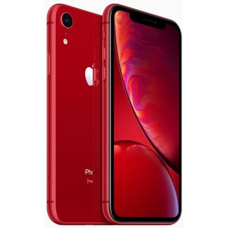 """Smartphone 6.1"""" Apple iPhone XR - 64 Go, Rouge mat (+ Jusqu'à 169.13€ en SuperPoints via l'Application)"""
