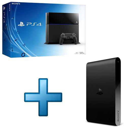 Sony PlayStation 4 + Playstation TV + Coupon de téléchargement pour 3 jeux