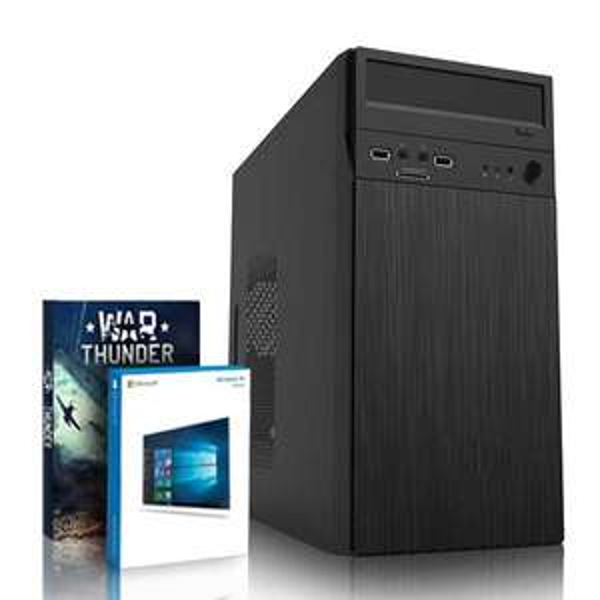 Pc Vibox - Intel i7 8700, 8 Go DDR4, HDD 1 To, Alimentation 500W (+96.40€ en SuperPoints)