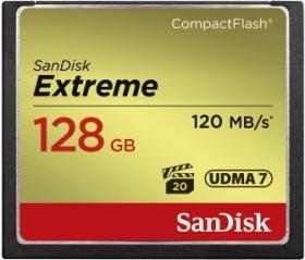 Carte Mémoire CompactFlash SanDisk Extreme 128 Go