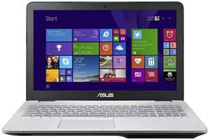 "PC Portable 15.6"" Asus N551JQ-DM042H (Intel Core i5 4200H, 8 Go RAM, HDD 1 To, NVIDIA 845M 2 Go)"