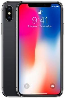 """Smartphone 5.88"""" Apple iPhone X - 64 Go (+ Jusqu'à 200.79€ en SuperPoints via l'Application)"""