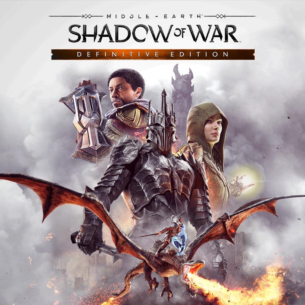 Middle-earth: Shadow of War Definitive Edition - Le Jeu + Toutes les Extensions sur PC (Dématérialisé - Steam)