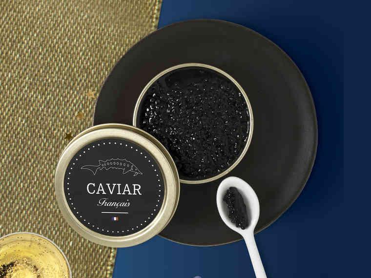 1 Boite de Caviar Français - 10G