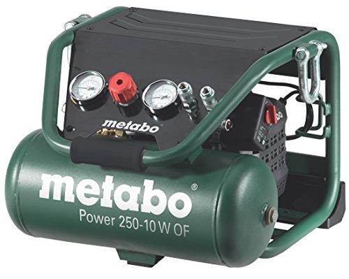 Compresseur Metabo Power 250 – 10 W OF – sans huile  220 l/min 10 bar Garantie 3 ans (vendeur tiers)