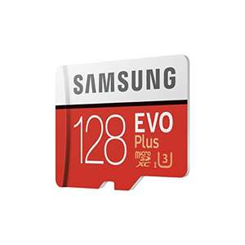 Carte Mémoire Samsung MicroSD Evo Plus - 128 Go + Adaptateur SD