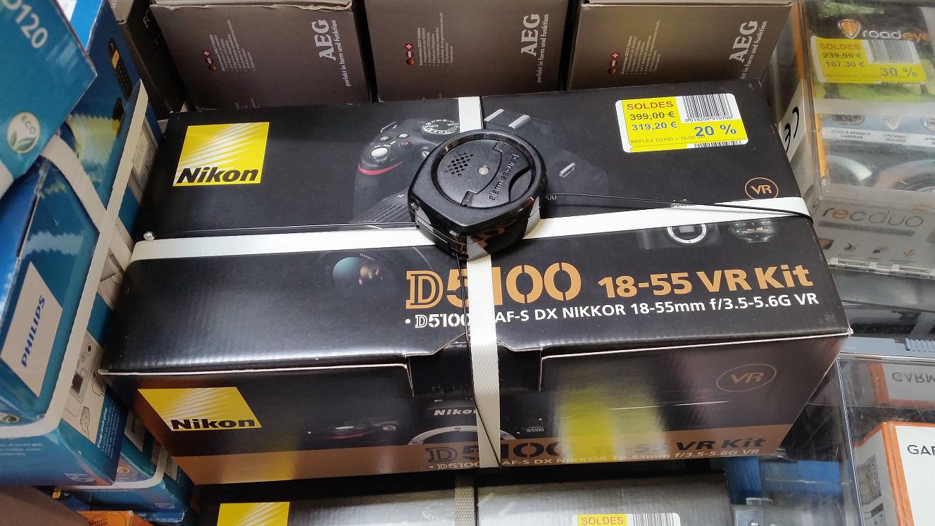 Reflex Nikon D5100 + 18-55mm
