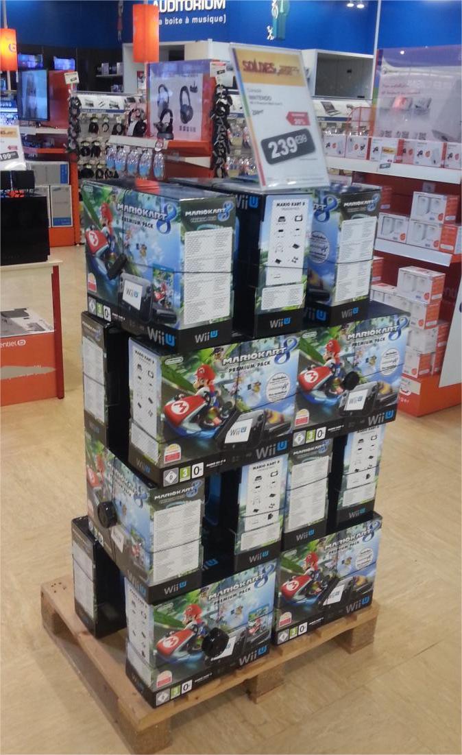 Console Nintendo Wii U Premium pack Mario kart 8