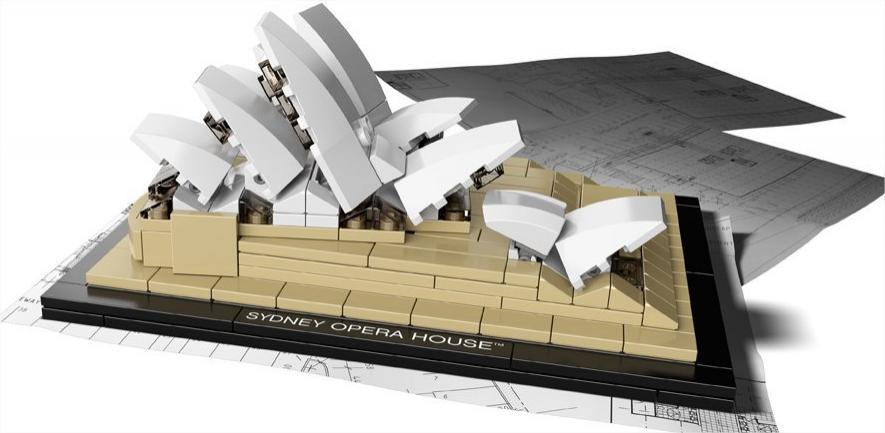 Lego Architecture - 21012 - Sydney Opera House