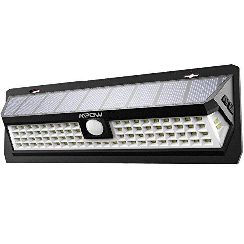 Lampe Solaire Extérieure Mpow avec Détecteur de mouvements - 80 LED  (Vendeur Tiers)