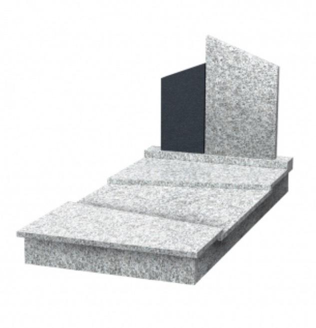 Monument funeraire à monter - Monukea VUMA - Gris du tarn & Noir