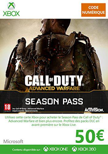 Carte Xbox Live de 50 euros
