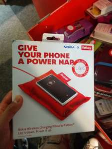 Chargeur QI Nokia Fatboy - Rouge