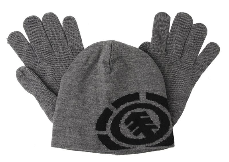 Jusqu'à -80% sur les accessoires - Ex: Set gants + bonnet Element