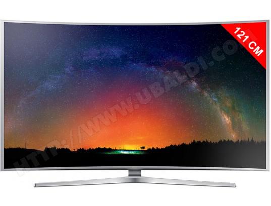 """TV LED 48"""" Samsung UE48JS9000 4K + Barre de son Samsung HW-J355 (avec ODR 400€)"""