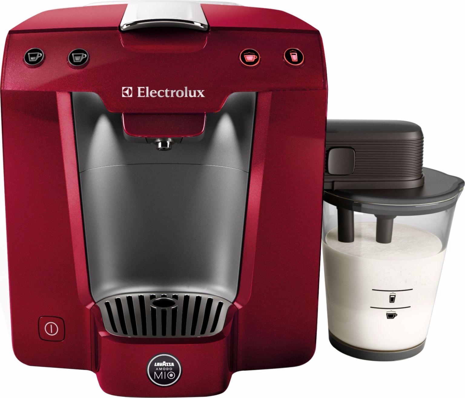 Cafetière Electrolux Lavazza A Modo Mio Favola Cappucino ELM 5400 MR - Rouge