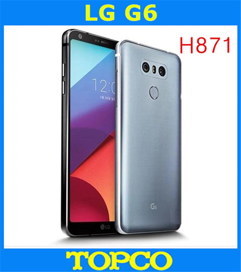 """Smartphone 5.7"""" LG G6 - 4 Go de Ram, 32 Go, B20, IP68"""
