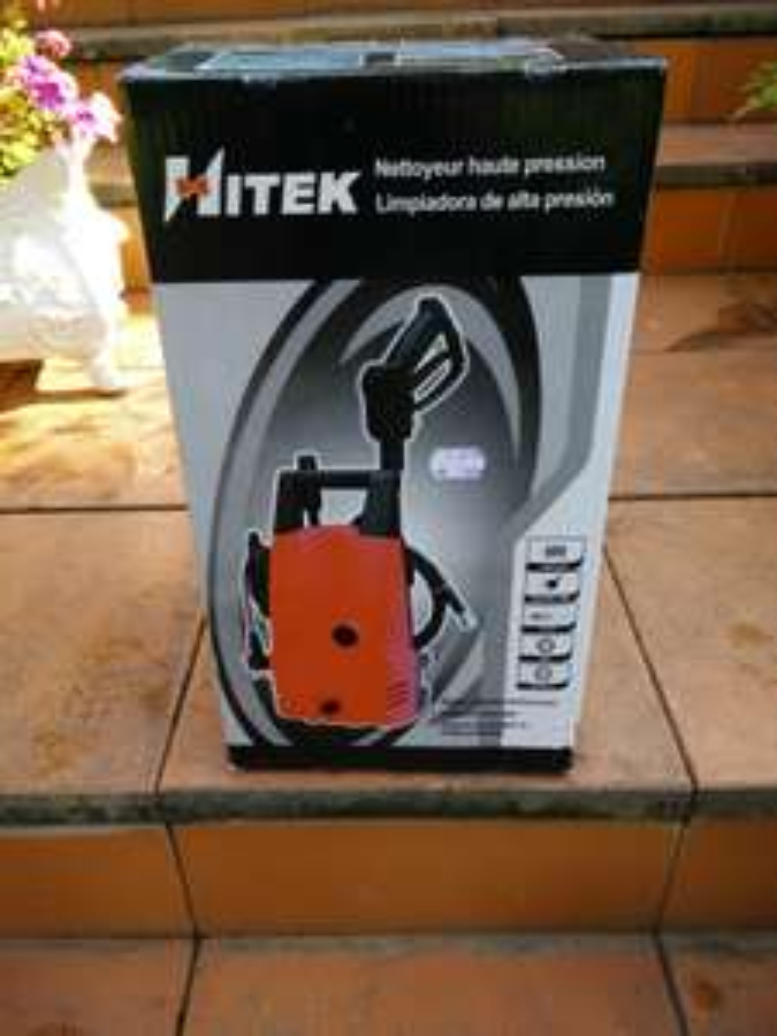 Nettoyeur Haute-Pression Hitek DY65126 - 1400W - 5L/min - 7Mpa
