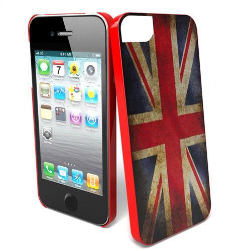 coque iPhone 5 et 5S - Drapeau UK Vintage