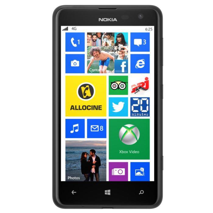 """Smartphone 4.7"""" Nokia Lumia 625 - 4G (via ODR 30€)"""