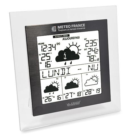 Station météo La Crosse Technology WD9521 avec prévisions Météo-France