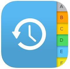Application Sauvegarder contacts gratuite sur iOS