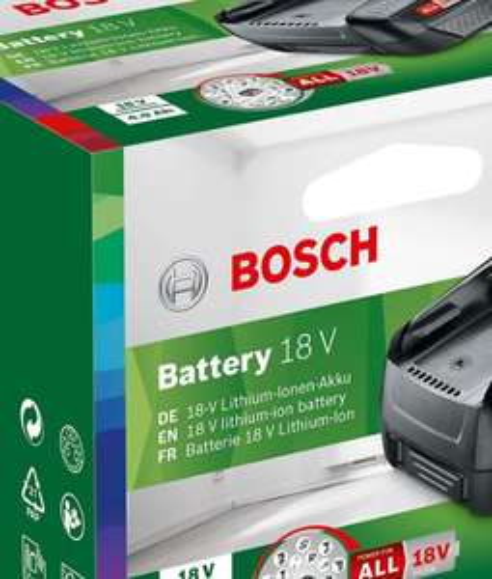 Batterie lithium-Ion Bosch 18V - 4.0Ah