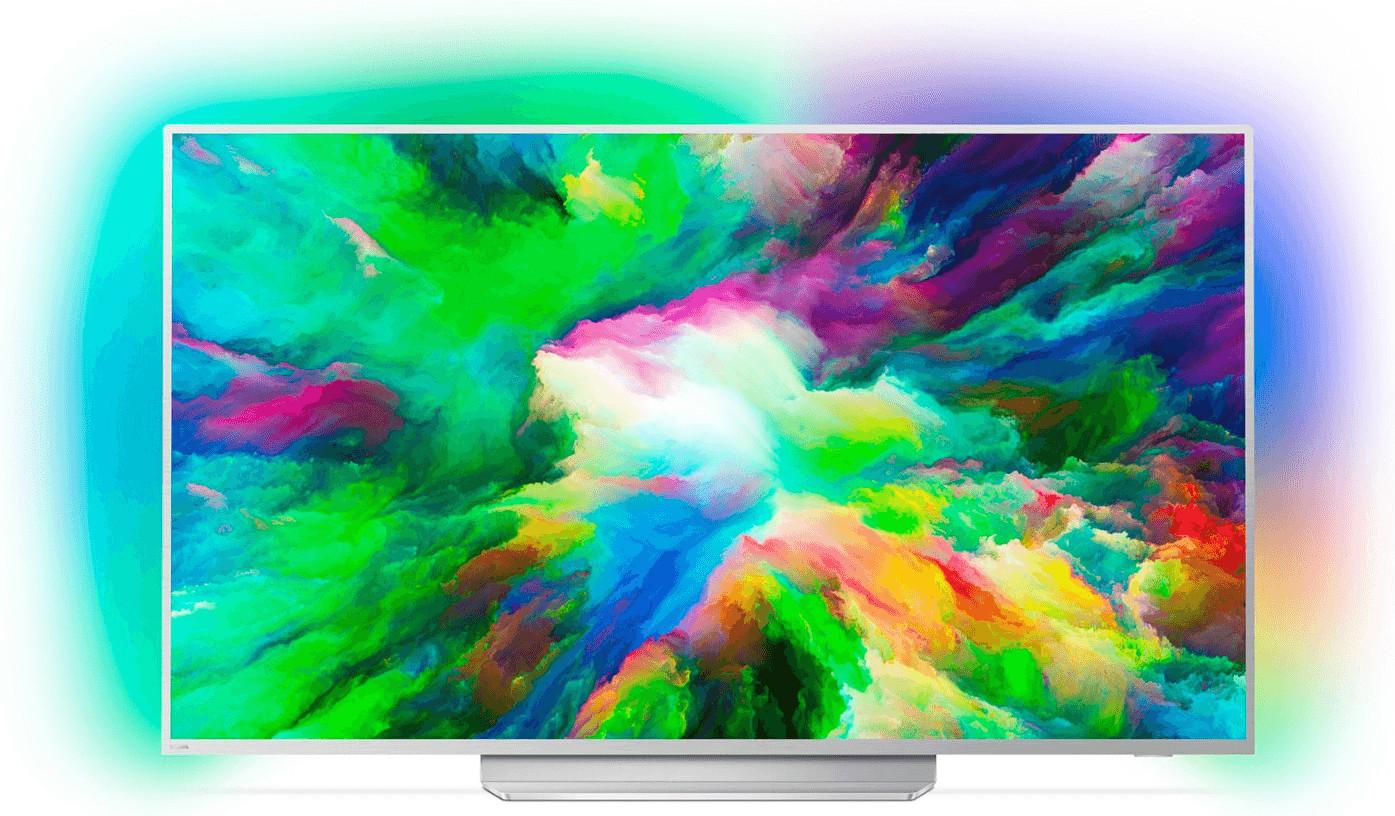 "TV 49"" Philips 49PUS7803 - 4K UHD, Edge LED, Ambilight 3 côtés, Smart TV,P5 (via ODR de 50€)"