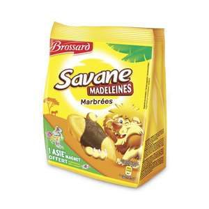 2 paquets de madeleines savane