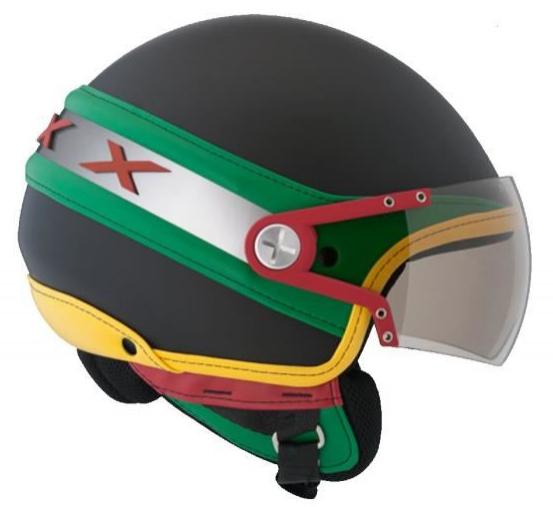 Sélection de casques moto en soldes - Ex : Casque Jet scoot moto Nexx X60 Pulp Ice