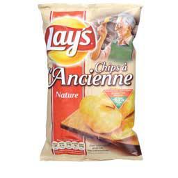 un sachet de chips Lays à l'ancienne de 135g 100% remboursé