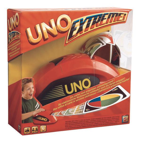Second jeu Mattel 100% remboursé - Ex: 2 Jeux Uno Extrême ! (via 13.92€ sur la carte + ODR de 34.80€ + Bon d'achat)