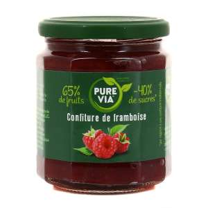 Pot de confiture Pure Via - différents fruits, 300 g (via BDR)