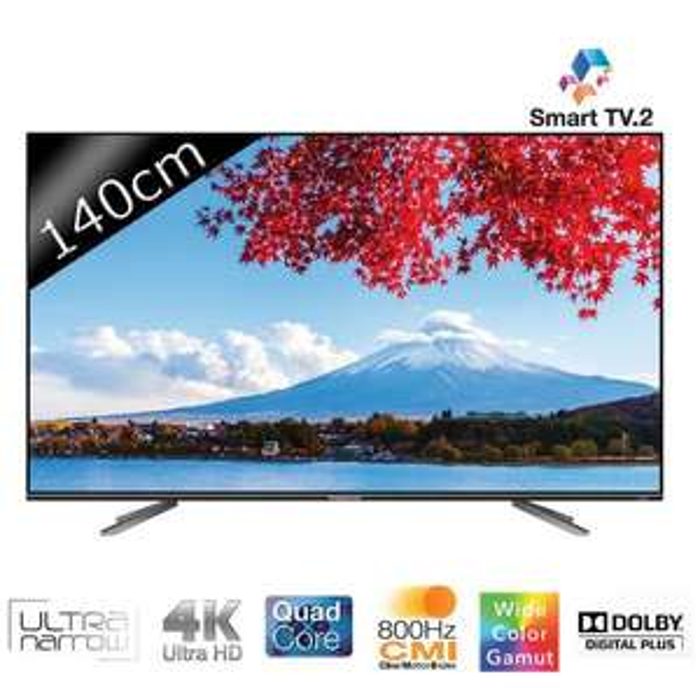 "TV LED 55"" Thomson 55UA7706 - Smart TV, UHD (avec ODR 300€)"