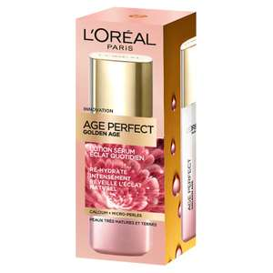 Lotion éclat quotidien l'Oreal Paris Age Perfect (via 10.82€ sur la carte) - Carrefour Drive Chambéry (73)