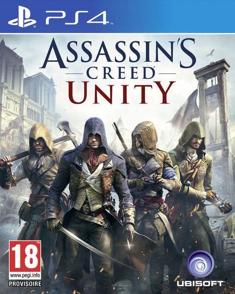 Jeu Assassin's Creed Unity sur PS4