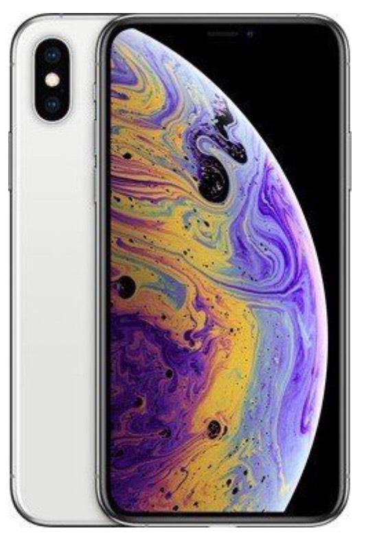 """Smartphone 5.8"""" iPhone XS 64 go - Argenté (+ Jusqu'à 252,25€ en superpoints)"""