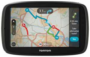 """GPS 5"""" TomTom GO 500  Europe 45 - Cartographie et trafic à vie (avec ODR 30€)"""