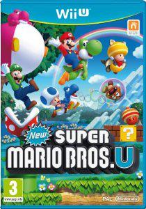 Jeu New Super Mario Bros U sur WiiU - Import Italien