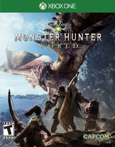 Monster Hunter World sur PS4 ou Xbox One