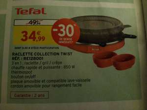 Appareil à raclette Tefal Collection Twist RE128001 - 850 W - Saint Gély du Fesc (34)