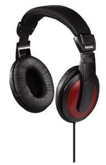 Casque hifi Hama  HK-3031 - Noir/Rouge