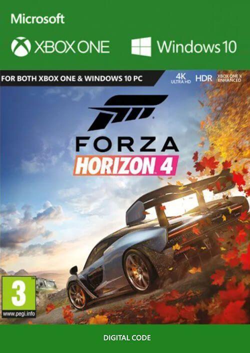 Jeu Forza Horizon 4 sur Xbox One / PC - Version Playanywhere (Dématérialisé)